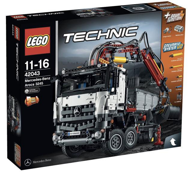 Mercedes Benz Truck Lego