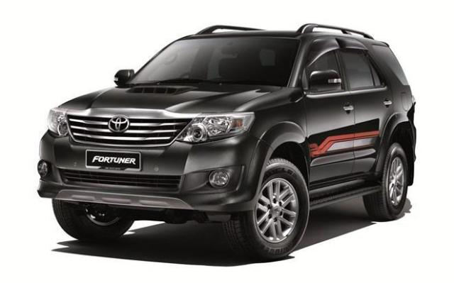 Toyota Fortuner SUV Coupe 2