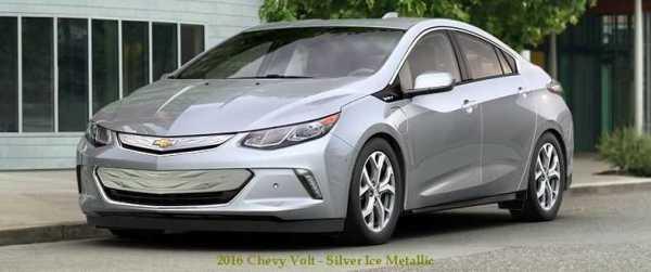 2016 Chevrolet Volt Electric Car