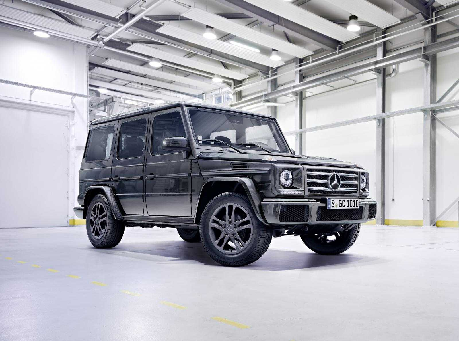 2016 Mercedes-Benz G550 Arrives in US in November with New AMG Engine