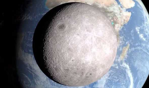 Newest Photograph from NASA Shows Dark Side of the Moon in Clear Light
