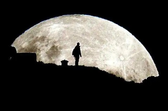 NASA Dark side of the moon