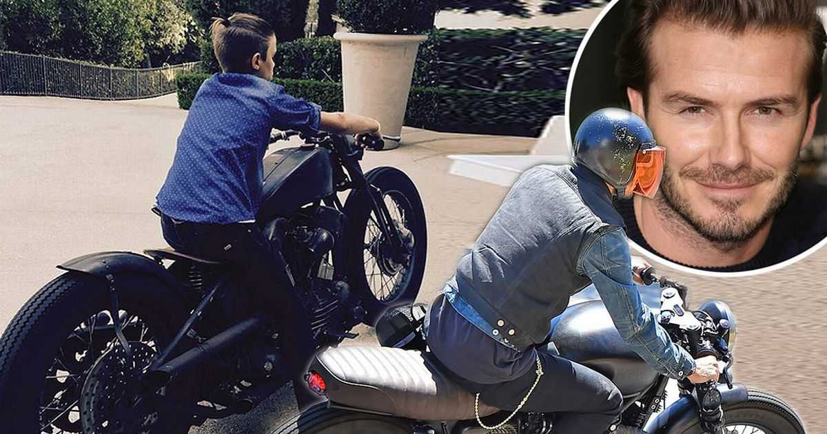 David Beckham's Fan Following Starts at Home with his Son Romeo Beckham Trying to Ape Daddy's Style