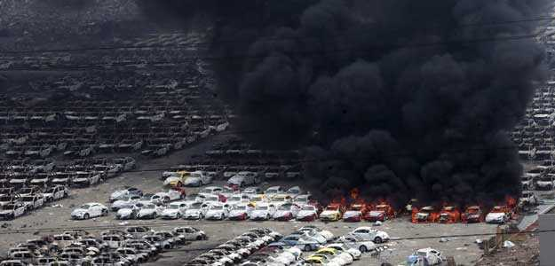 China's Port Blast Destroys Over 5000 Jaguar Land Rovers, Collective Loss Estimated at $1Billion