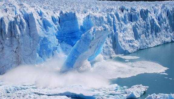 glacier meltdown