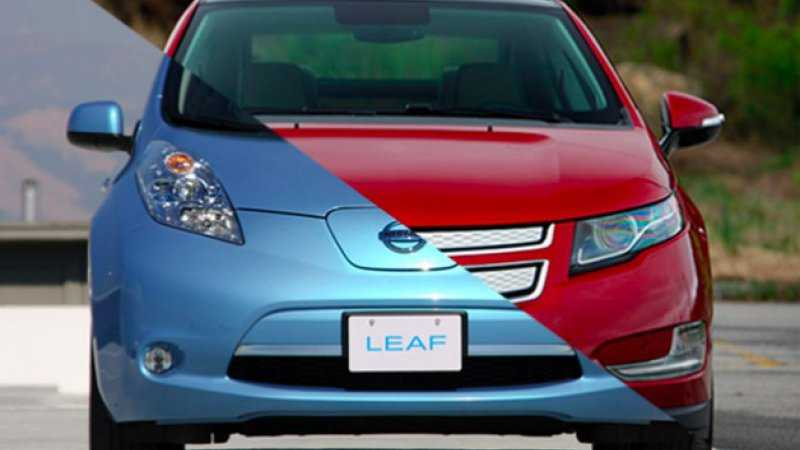 Nissan Leaf Gives a Tough Competition for Chevy Bolt in 107 Mile Challenge