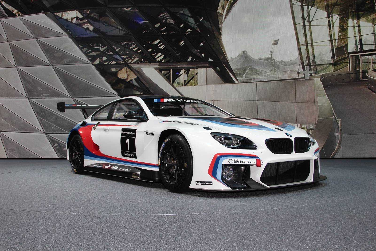 2015 BMW M6 GT3 Race Car Poster