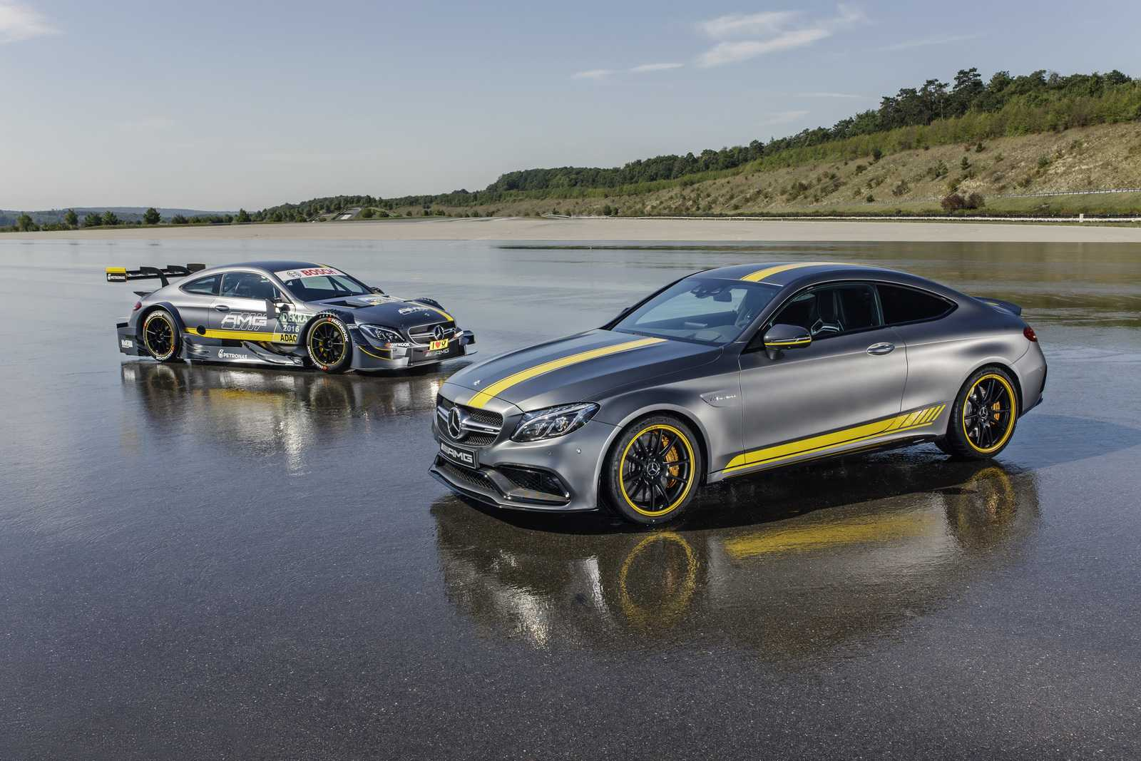 2017 Mercedes AMG C63 Coupe Edition 1 is a Sports Car Lovers Dream Come True