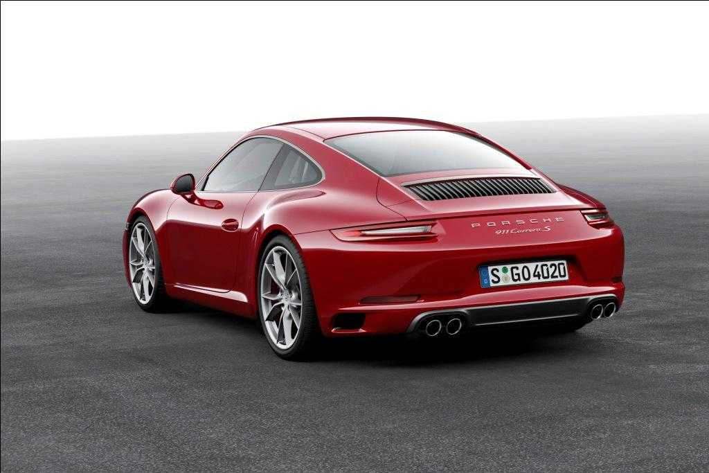 2017 Porsche 911 Carrera with Turbocharged Engine to Debut at Frankfurt Motor Show