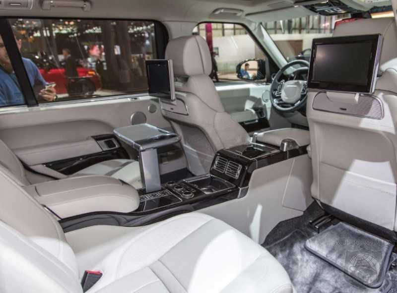 Range Rover Commemorated its 45th Year with the SV Autobiography
