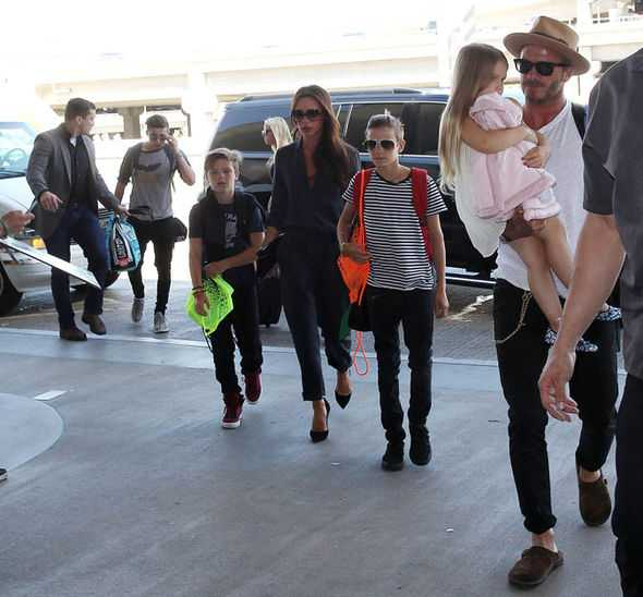 David Beckham and Family Back Home in the UK after Their Summer Sojourn in LA