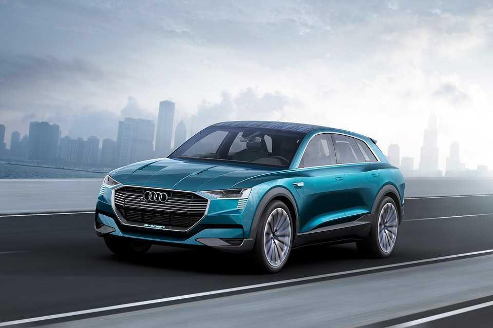 Audi Unveils E-tron Quattro SUV to Compete Tesla Model X