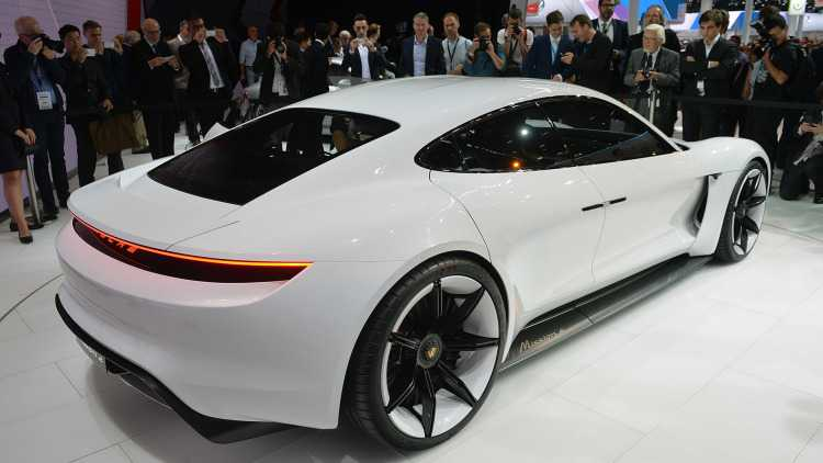 Audi and Porsche to Challenge Tesla: Electric Vehicles Launched in Frankfurt Motor Show