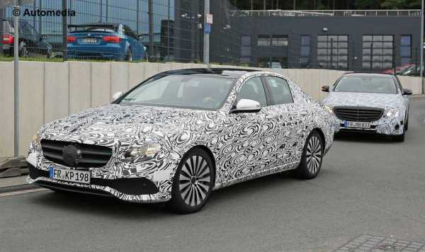2017 Mercedes-Benz E-Class Spy Photos