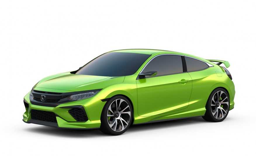 Honda Gearing Up to Show 2016 Civic Coupe at LA Auto Show