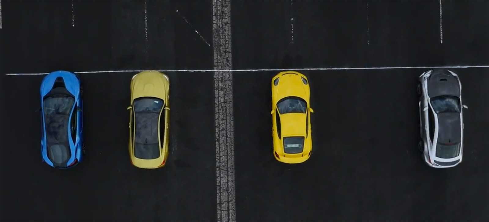 Spectacular Drag Racing Event Pits BMW M4, BMW i8, Lexus RC F and Porsche GT4