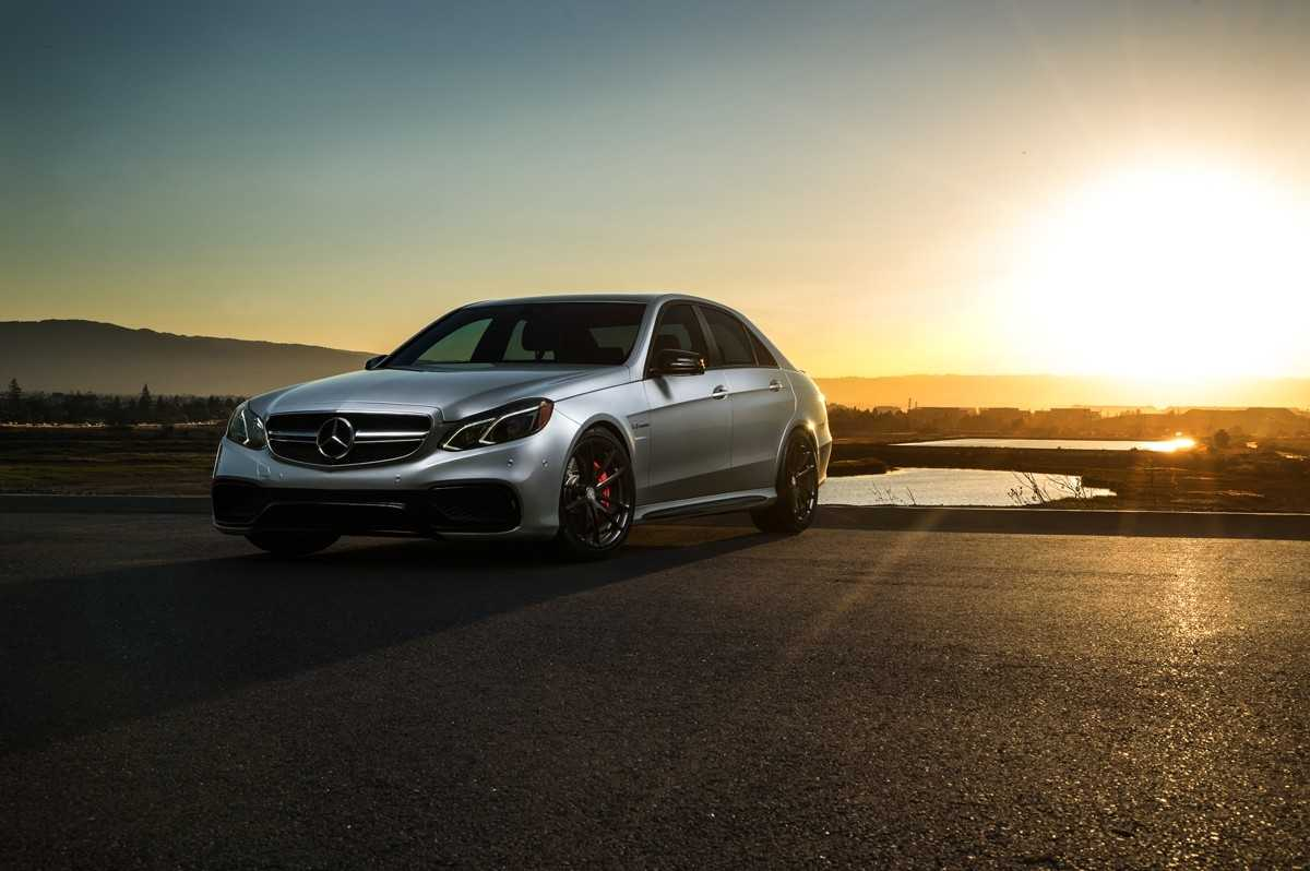 Mercedes Benz E63 AMG Edition Gets Upgraded with HRE Wheels, New Photos In