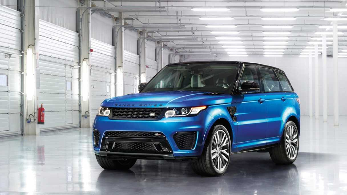 Range Rover Sport SVR Official Launched in India