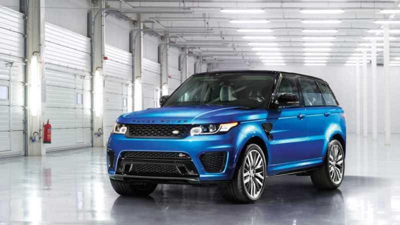 Range Rover Sport SVR Official
