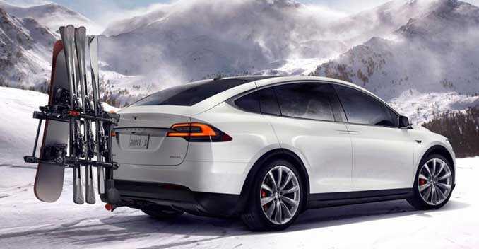 Tesla Model X Sleek Profile