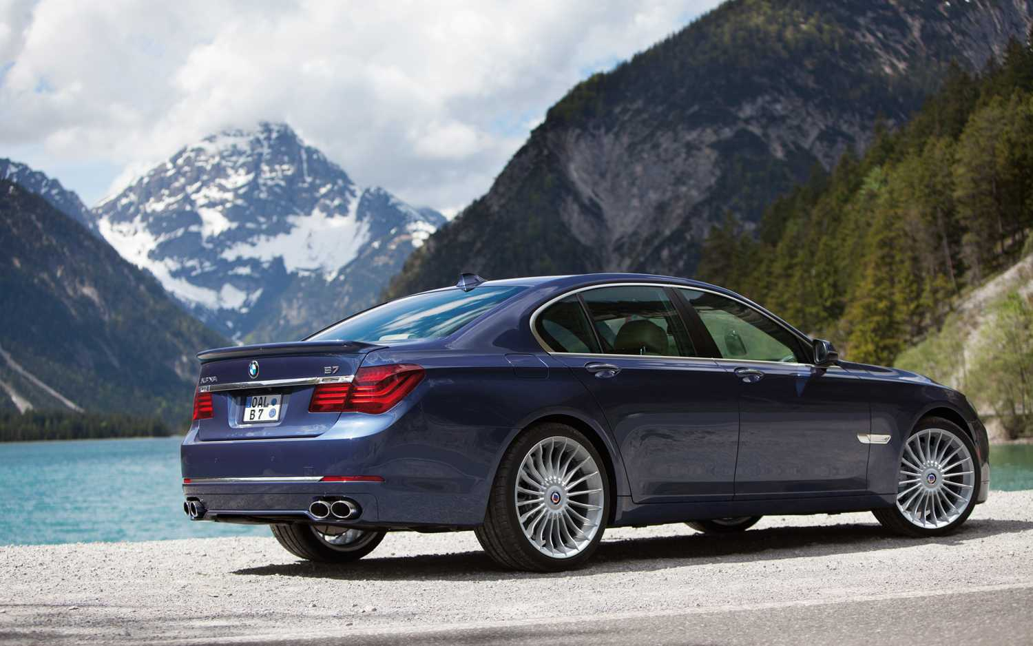 BMW Alpina B Xdrive Is Out Sports A HP Engine - Bmw b7 alpina horsepower