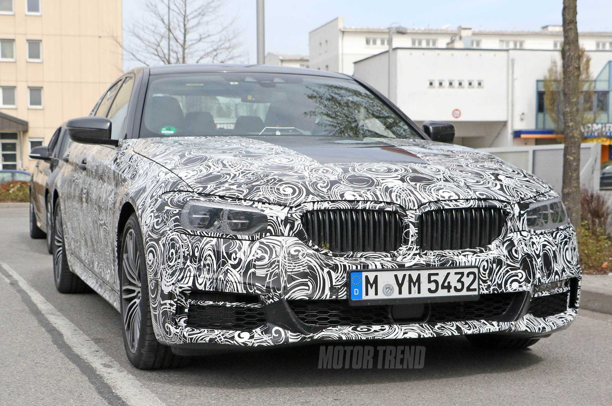 BMW 5 Series Spotted On The Road, Spy Shots Emerge