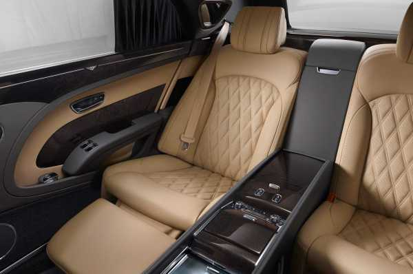 Bentley Mulsanne Interior