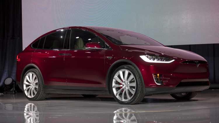 Model X SUV 2016