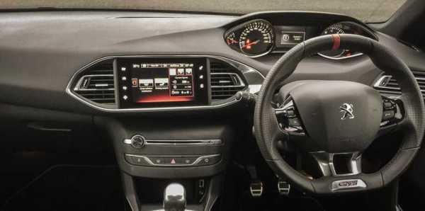 Peugeot i-Cockpit Infotainment System