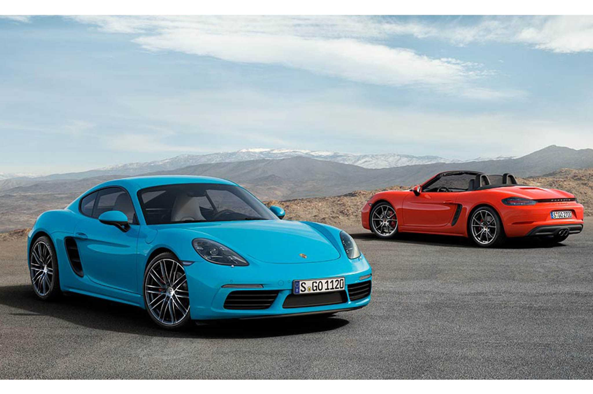 Porsche 718 Cayman is Now Officially Launched