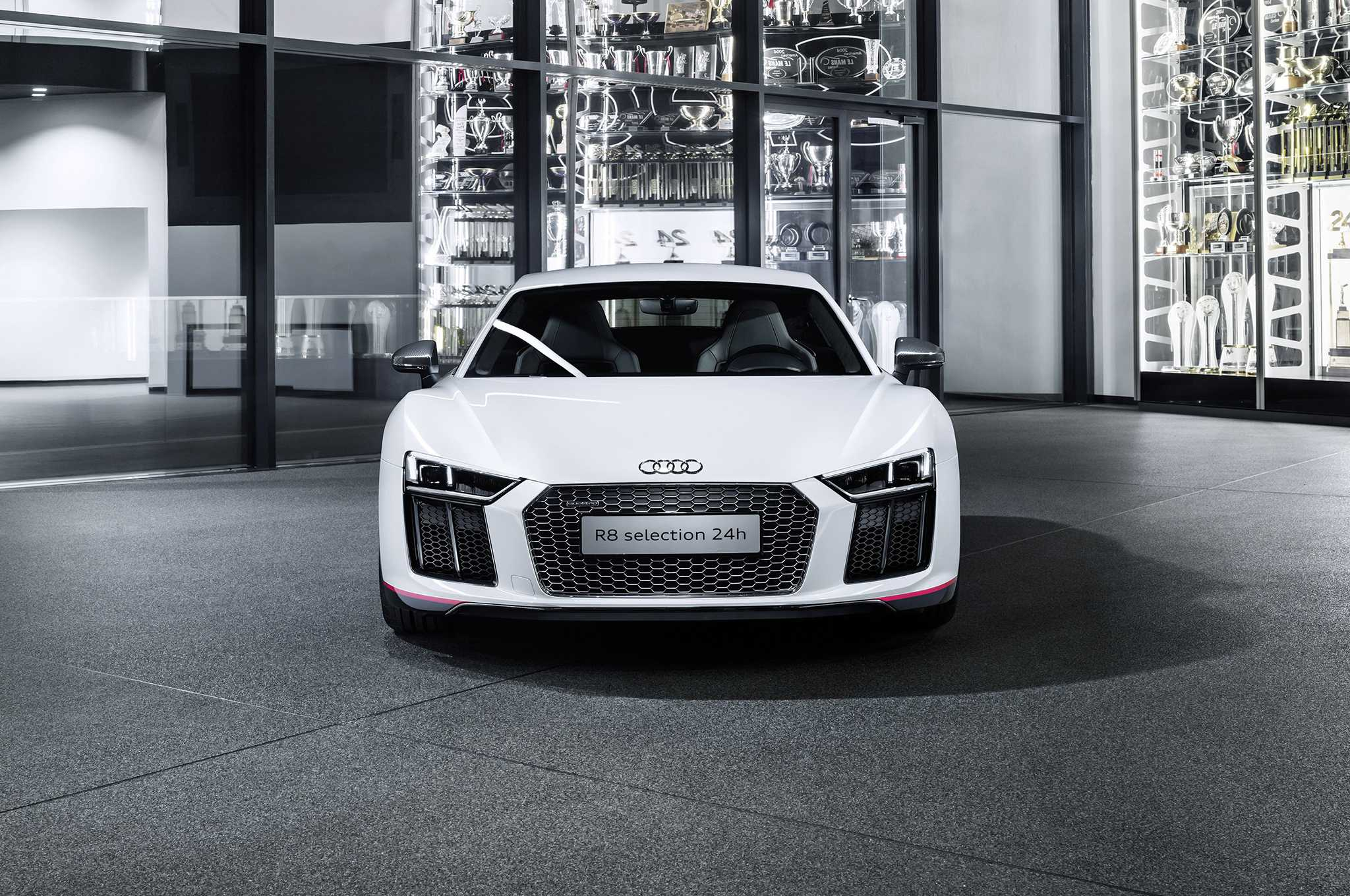 Audi R8 V10 Plus Selection 24H Launched, Official Pictures Released
