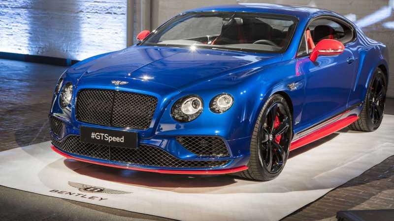 2017 Bentley Continental GT Speed Front