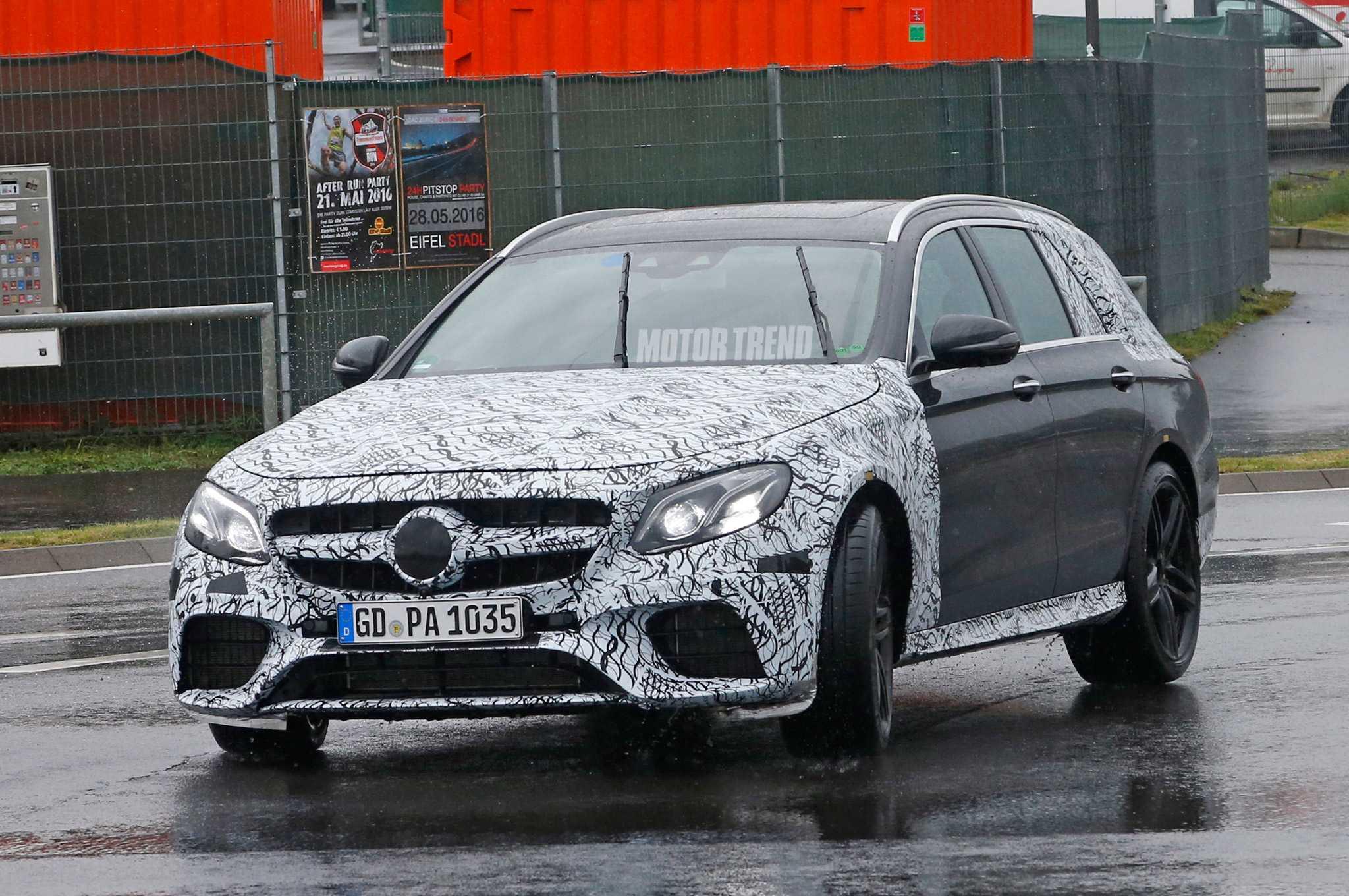 2017 Mercedes AMG E63 Wagon Spy Shots Emerge