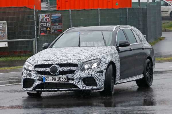 2017 Mercedes AMG E63 Wagon-front