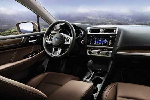 2017 Subaru Outback Touring cabin