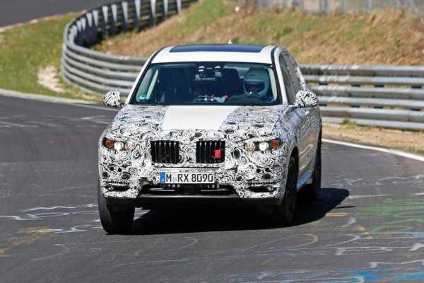 BMW X3 Front