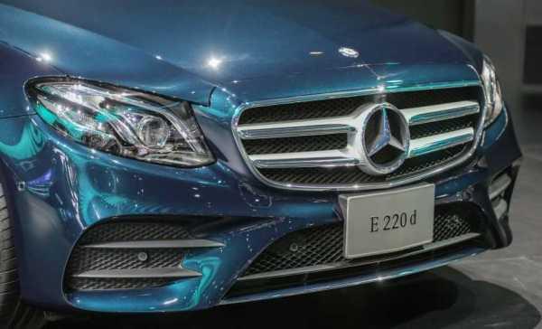 Mercedes Benz W213 E-Class Teaser