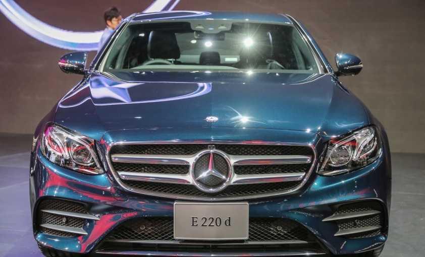 Mercedes Benz W213 E-Class Teaser Website Launched