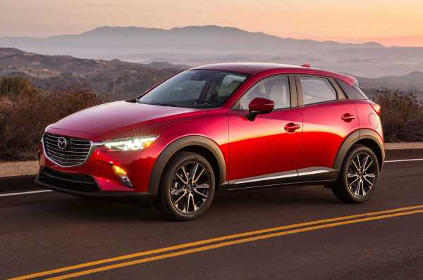 2016 Mazda CX 3 front