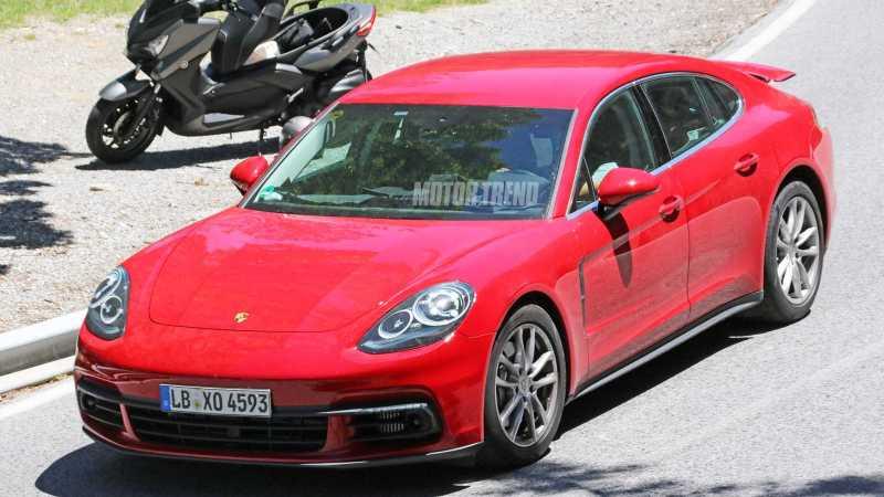 2017 Porsche Panamera Prototype front
