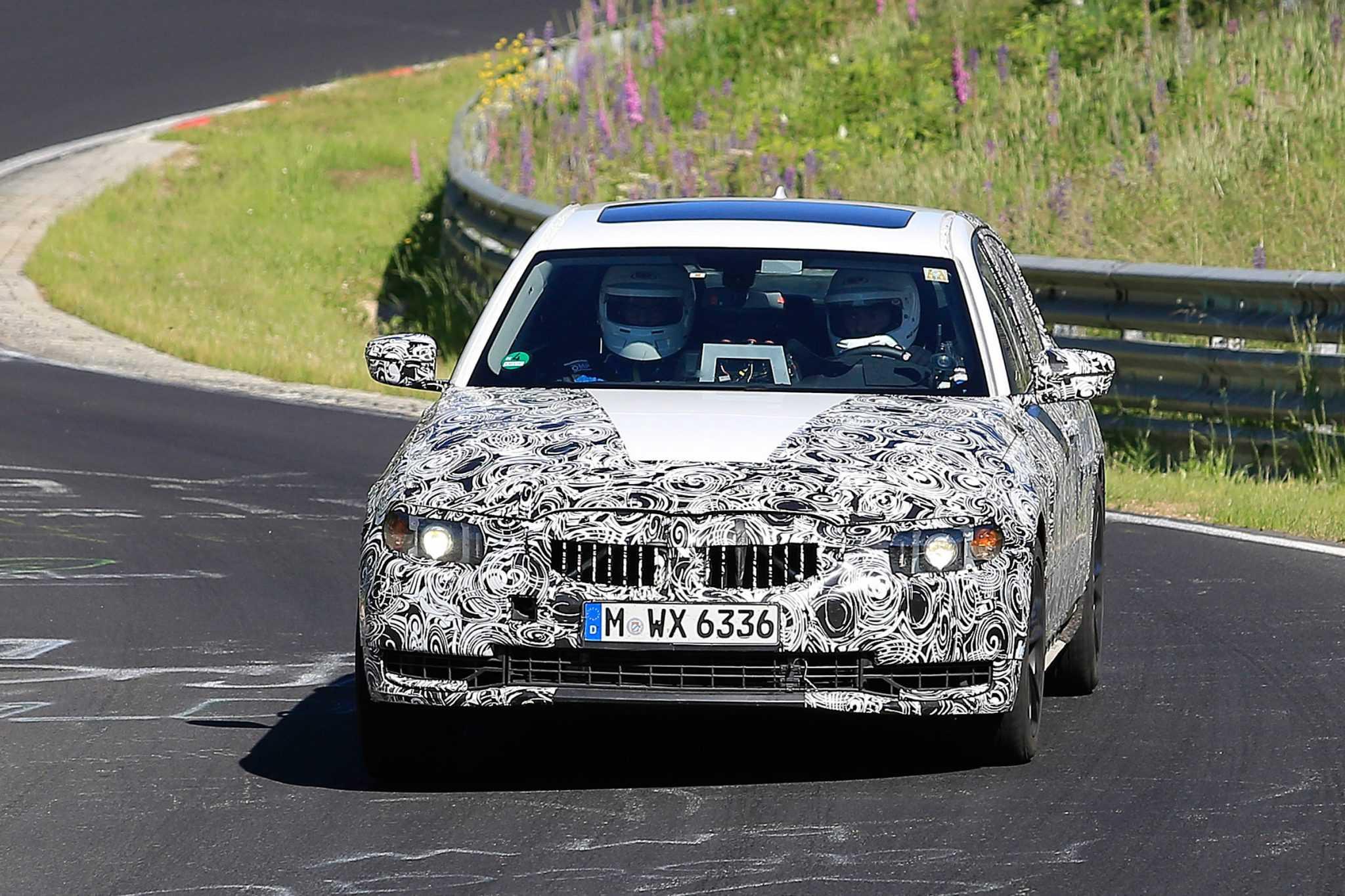 2018 BMW 3 Series Spy Shots Emerge Online