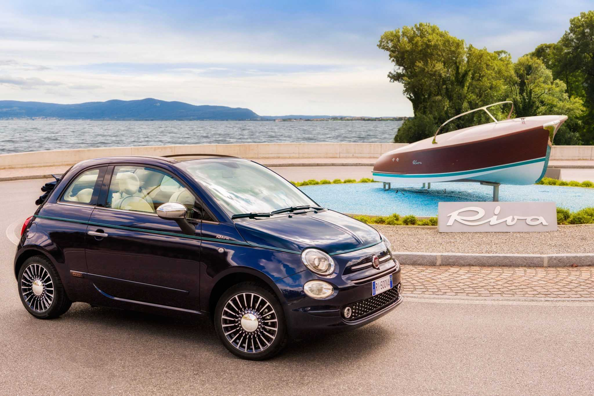 Fiat 500 Riva Edition Boasts Of Exquisite Interiors Inspired By a Yacht