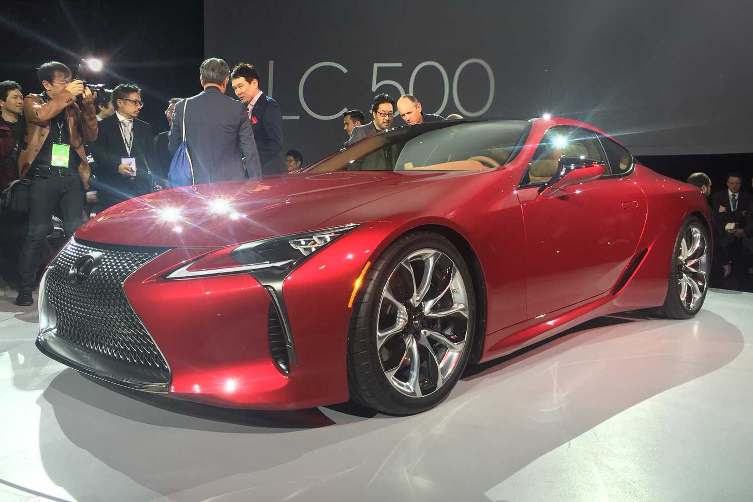 Lexus LC 500 Coupe Set For Grand Launch at Goodwood Expo