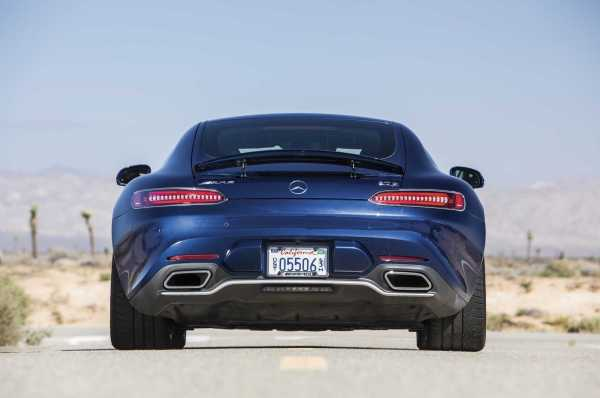 Mercedes AMG GT Convertible rear