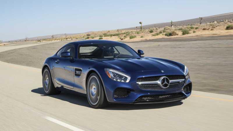 Mercedes AMG GT Convertible