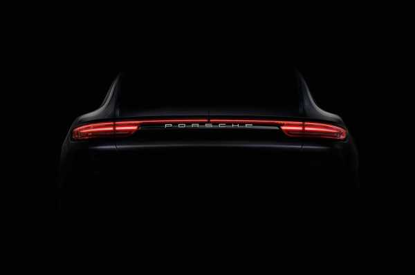 Porsche Panamera Teaser Image