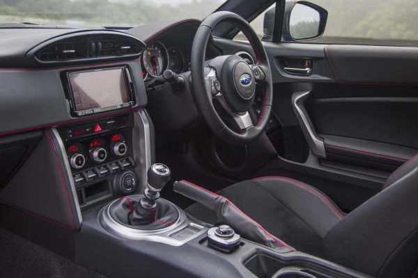 2017 Subaru BRZ interior
