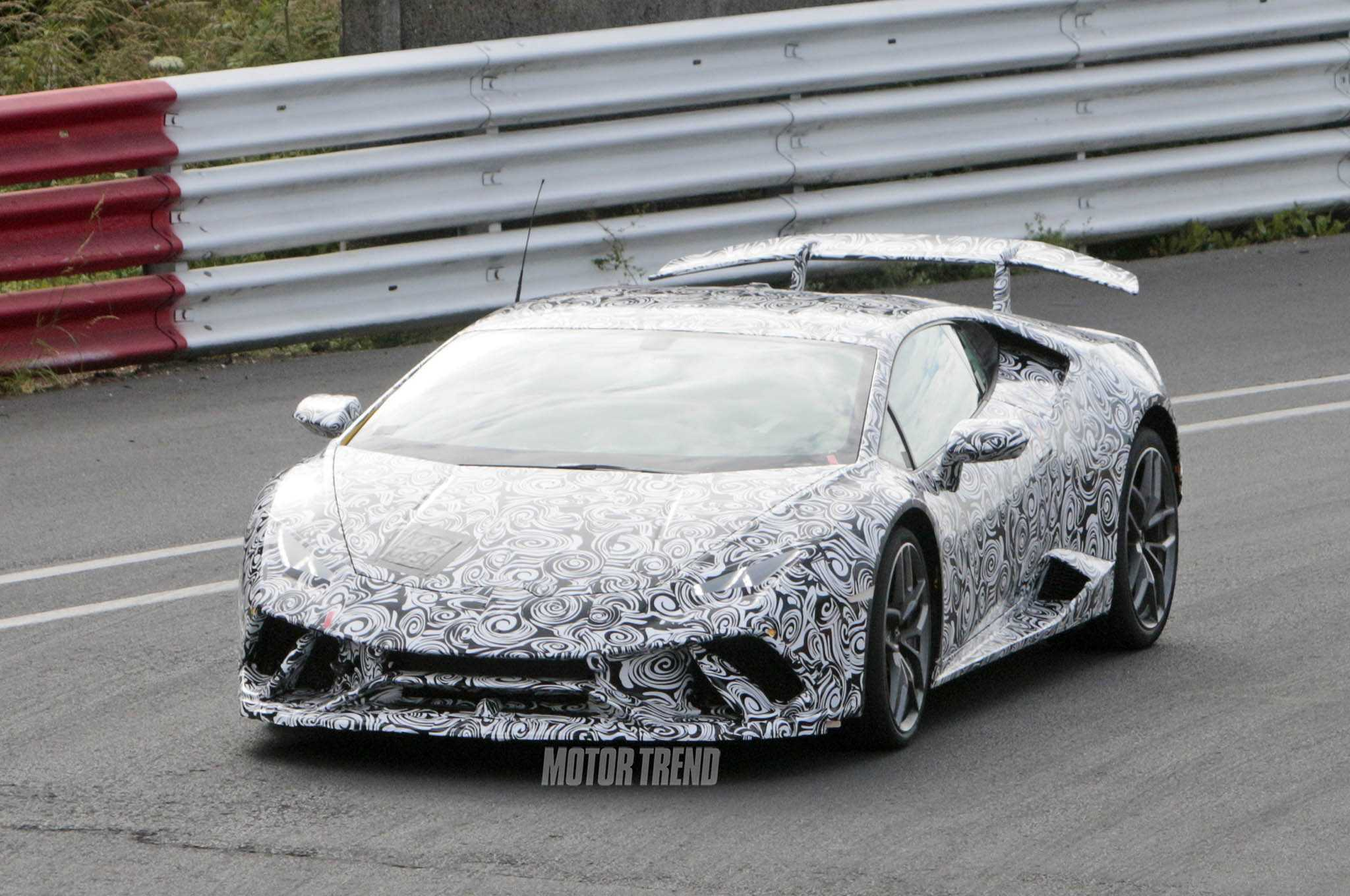 Lamborghini Huracan Superleggera Spied Testing In The Ring