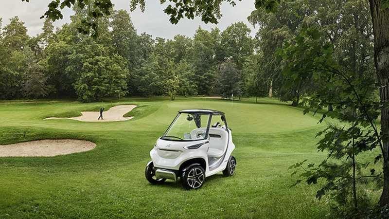 Mercedes Benz Style Edition Garia Golf Car