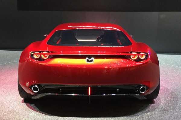 Mazda RX 9 rear